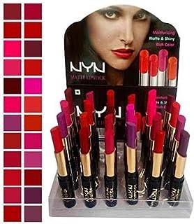 Make Line Nyn Matte Waterproof Lipsticks - Pack of 24