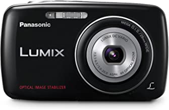 Panasonic Lumix DMC-S1 12.1 MP Digital Camera with 4x Optical Image Stabilized Zoom with 2.7-Inch LCD (Black)