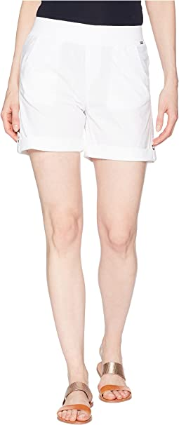 FDJ French Dressing Jeans - Serene Poplin Pull-On Shorts in White