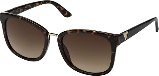 Shiny Havana with Gold/Brown Gradient Lens