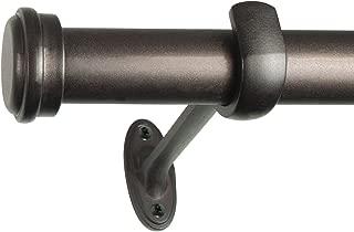 Decopolitan End Cap Single Rod, 36 to 72-Inch, Copper