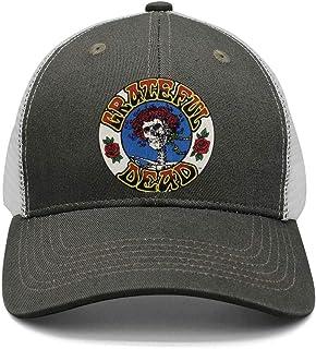 c41fcae036a6d HJHJFT Mens Woman Adjustable Trucker Hat  grateful-Stream-dead-Release-American