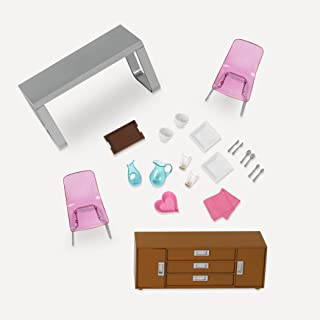 Moderna Dining Set, Our Generation for mini dolls 6 inches