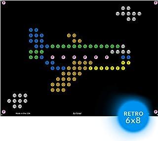 llumiPeg Things That Go Refill templates for Basic Fun Lite Brite Magic Screen Retro Style (12 Sheets, 6x8)