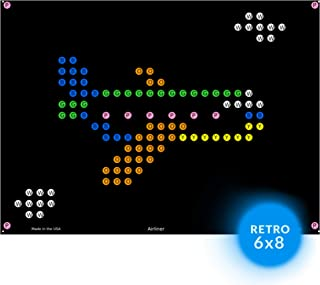 llumiPeg Light Brite Magic Screen Refills - Things That Go Art Templates (12 Sheets)