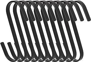 S-Haken 11cm grote platte S-vormige haken Heavy Duty roestvrijstalen ophanghaak voor keukengerei, gebruiksvoorwerpen, hand...