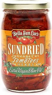 16 oz Bella Sun Luci Sun Dried Tomatoes Julienne Cut in Olive Oil