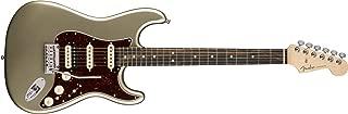 Fender American Elite Stratocaster HSS Shawbucker - Champagne w/Ebony Fingerboard
