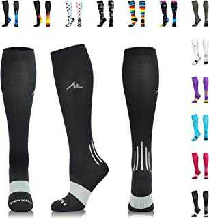 Compression Socks for Men & Women 20-30 mmHg - Athletic Fit