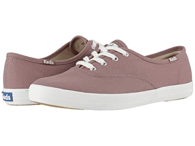 Keds Champion Seasonal Solids (Mauve) Women