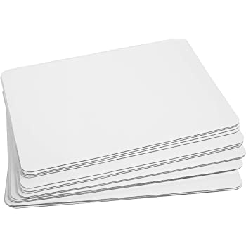 "White Quarter Sheet 13.75"" x 9.75"" Cake Board Sturdy Rectangle Greaseproof Pad Full 15 Pk Boards (15, White)"