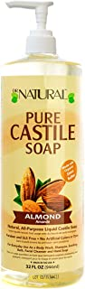 Dr. Natural Pure-castile Liquid Soap, Almond, 32 Oz