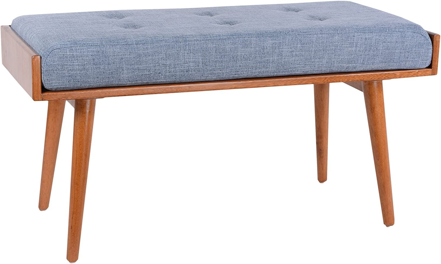 Porthos Home Robin Accent Bench, bluee