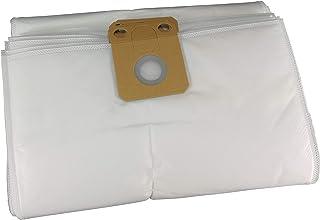 1x Sac-filtre tissus /à fermeture /éclair Hepa r/éutilisable pour aspirateur NILFISK Alto VC 300 Hepa; VP 300