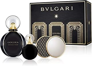 Bvlgari Goldea The Roman Night Set (EDP, 75ml + EDP, 15ml + Beauty Mirror)