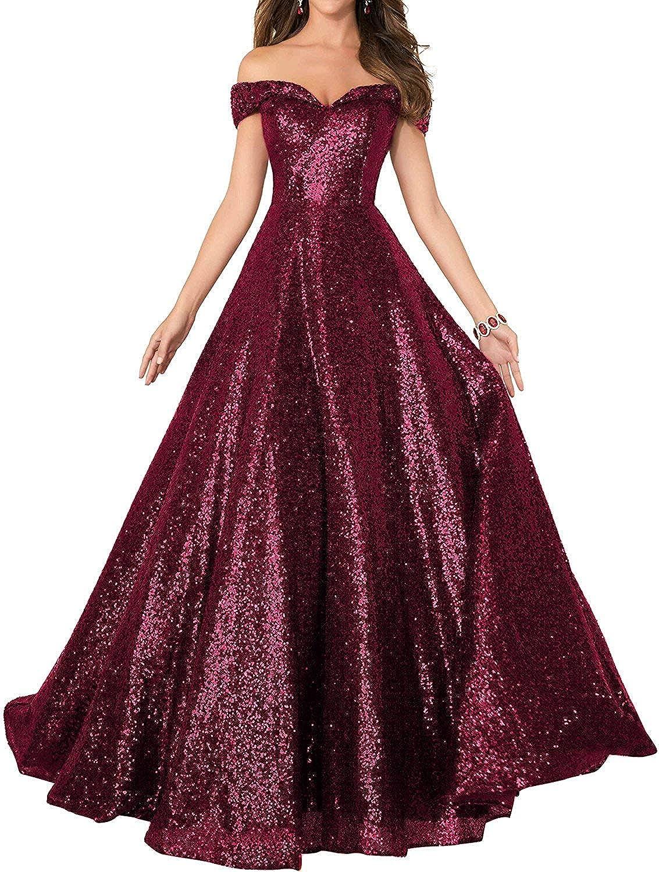 JAEDEN Prom Dress Formal Evening Dresses Long Sequin Bridesmaid Dress Off The Shoulder Formal Evening Party Gowns A Line