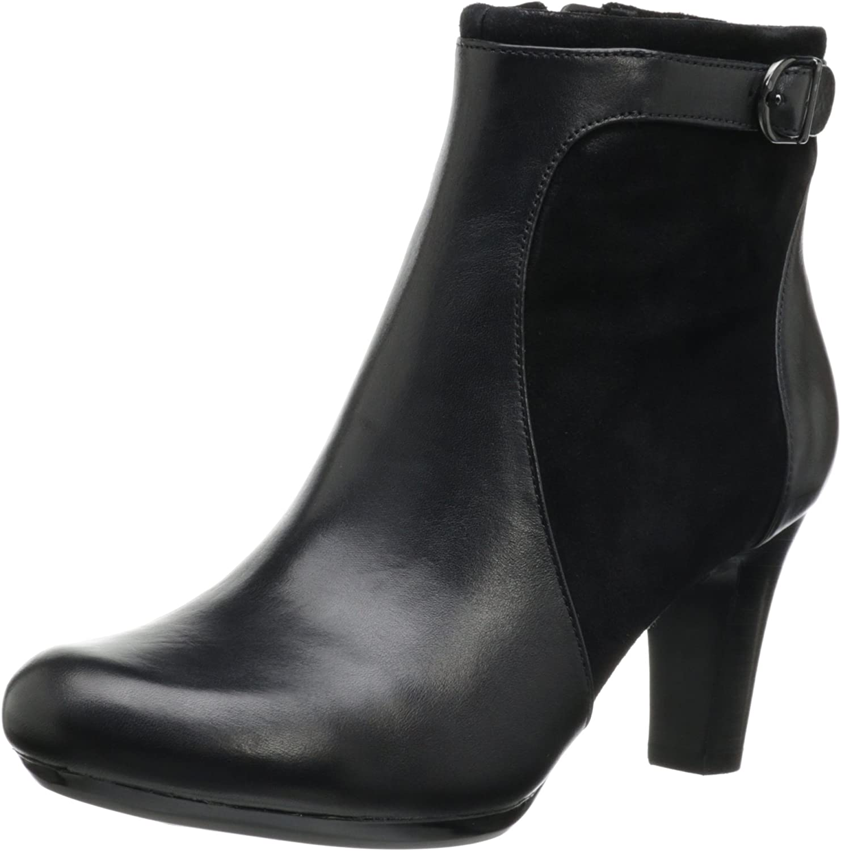 Clarks Women's Society Round Ankle Black