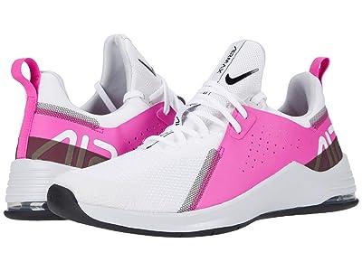 Nike Air Max Bella TR 3 (White/Black/Fire Pink/Pure Platinum) Women