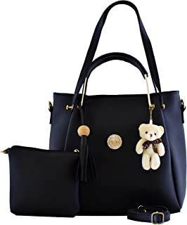 Le Platinum Women's Handbag With Sling Bag (Set of 2)