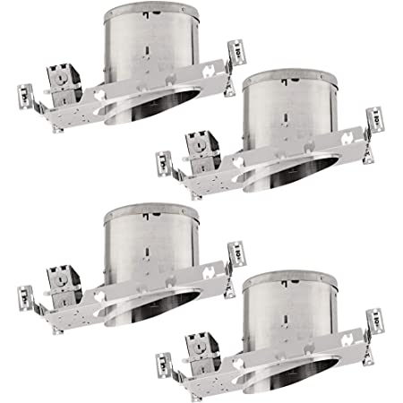 Nicor Lighting 6 Inch Sloped Recessed Housing For New Construction Applications Ic Rated 17022a Recessed Light Fixture Housings