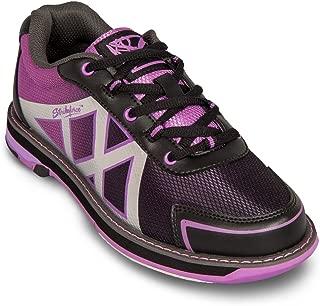 KR Strikeforce Womens Kross Bowling Shoes- Black/Purple (9 1/2 M US, Black/Purple)