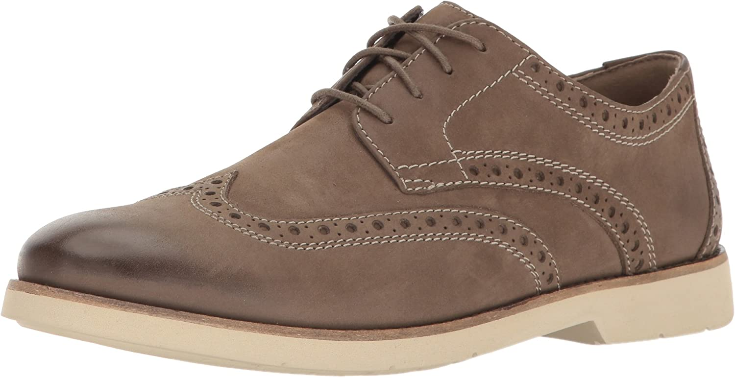 Clarks Men's Pariden Wing Tip Oxford