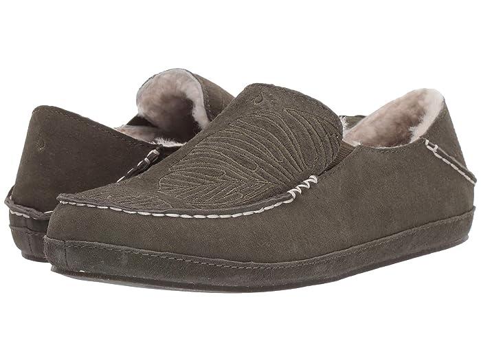 Nohea Slipper  Shoes (Dusty Olive/Monstera) Women's Slippers