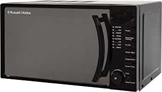 Russell Hobbs RHM1714B 17 Litre 700 W Black Digital Solo Microwave with 5 Power Levels, Digital Clock and Timer, 8 Auto Co...