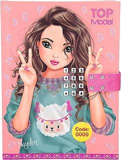 Top Model 0010297 - Diario con código secreto