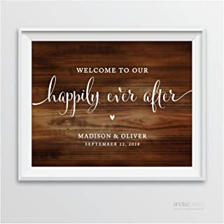Best personalized wooden wedding signs Reviews