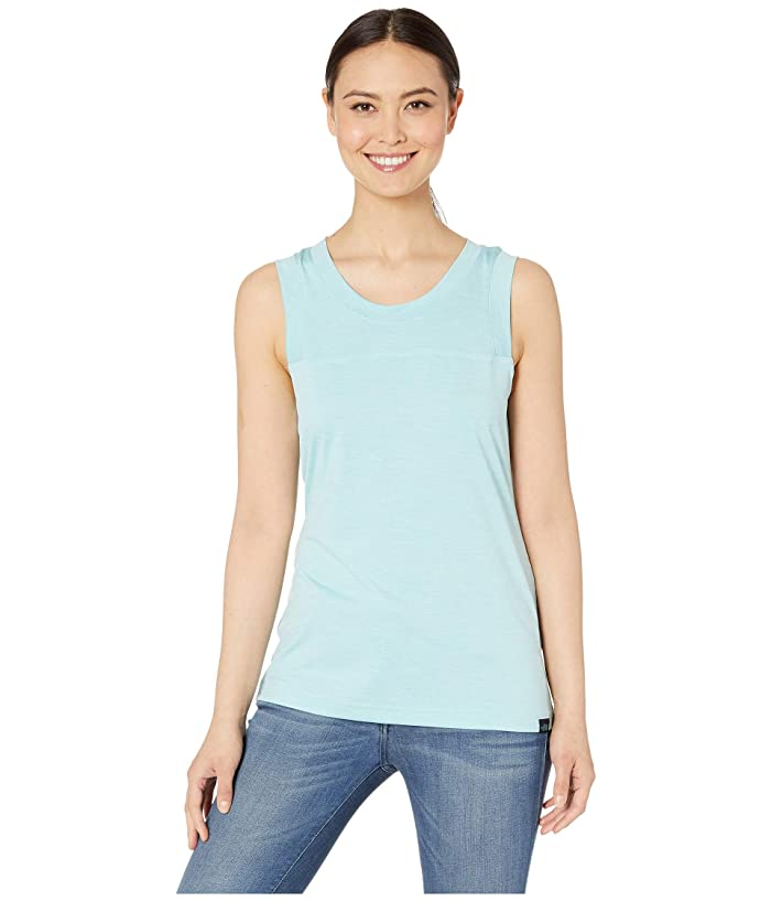 The North Face HyperLayer FD Tank Top (Canal Blue Heather) Women