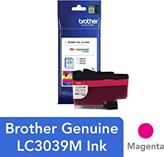 Brother Genuine LC3039M, Single Pack Ultra High-Yield Magenta INKvestment Tank Ink Cartridge, Page Yield Up to 5,000 Pages, LC3039, Amazon Dash Replenishment Cartridge