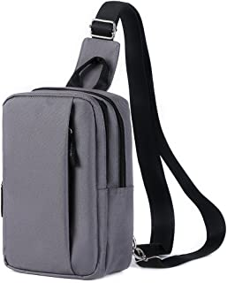 HawLander Chest Sling Bag for Daily Basis,Mini Size