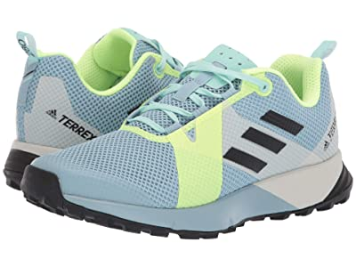 adidas Outdoor Terrex Two (Ash Grey/Black/Hi-Res Yellow) Women
