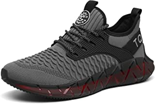 TQGOLD® Uomo Donna Scarpe da Ginnastica Corsa Sportive Sneakers Running Basse Basket Sport Outdoor Fitness Respirabile Mesh