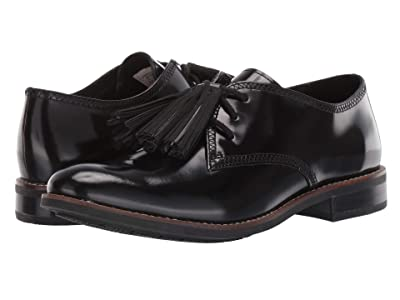Sperry Fairpoint Tassel Leather Oxford (Black) Women