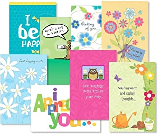 Thinking of You Greeting Cards Value Pack - Set of 16 (8 Designs) Large 5