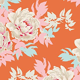 Tilda Sunkiss: Beach Peony: Ginger: by The Metre