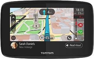 TomTom GPS Voiture GO 520 - 5 Pouces Cartographie Monde, Trafic, Zones de Danger via Smartphone, Appel Mains-Libres
