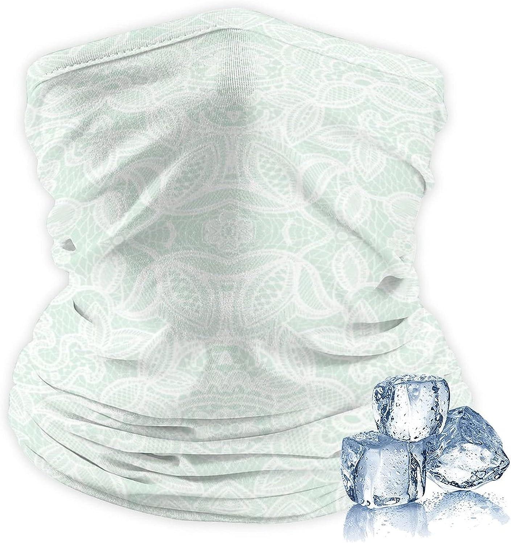 Unisex Ice Silk Outdoor Headband Seamless Bandana Neck Gaiter Sports Headwear