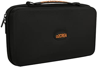 co2CREA (TM Universal Hard Shell EVA Carrying Storage Travel Case Bag for Powerbank HDD/Electronics/Accessories Extra Larg...
