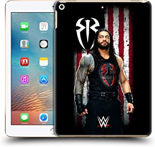 Official WWE Roman Reigns American Flag Superstars Hard Back Case Compatible for iPad 9.7 2017 / iPad 9.7 2018