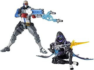 "Overwatch Ultimates Series Soldier: 76 & Shrike (Ana) Skin Dual Pack 6"" Collectible Action Figures"