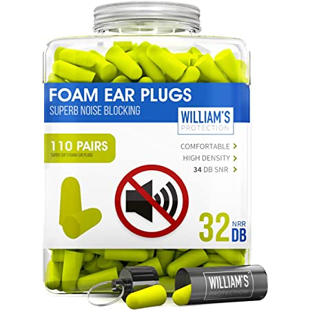 40Pcs//20Pairs Soft Foam Earplug Protector Travel Sleep Noise Reducer Ear Plug PT