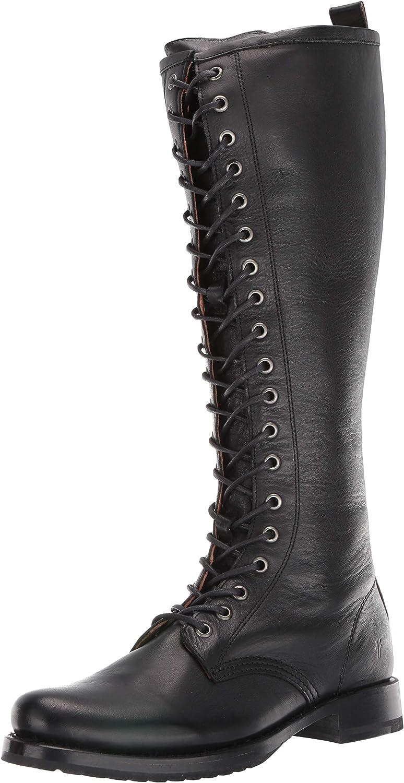 Frye Spasm price Women's Veronica Max 80% OFF Tall Boot Combat