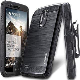 LG Stylo 3 / Stylo 3 Plus Case, COVRWARE [Iron Tank] Built-in [Screen Protector] Heavy..
