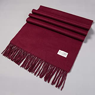 Cashmere Scarf, Classic Solid Color Stytle for Women and Men