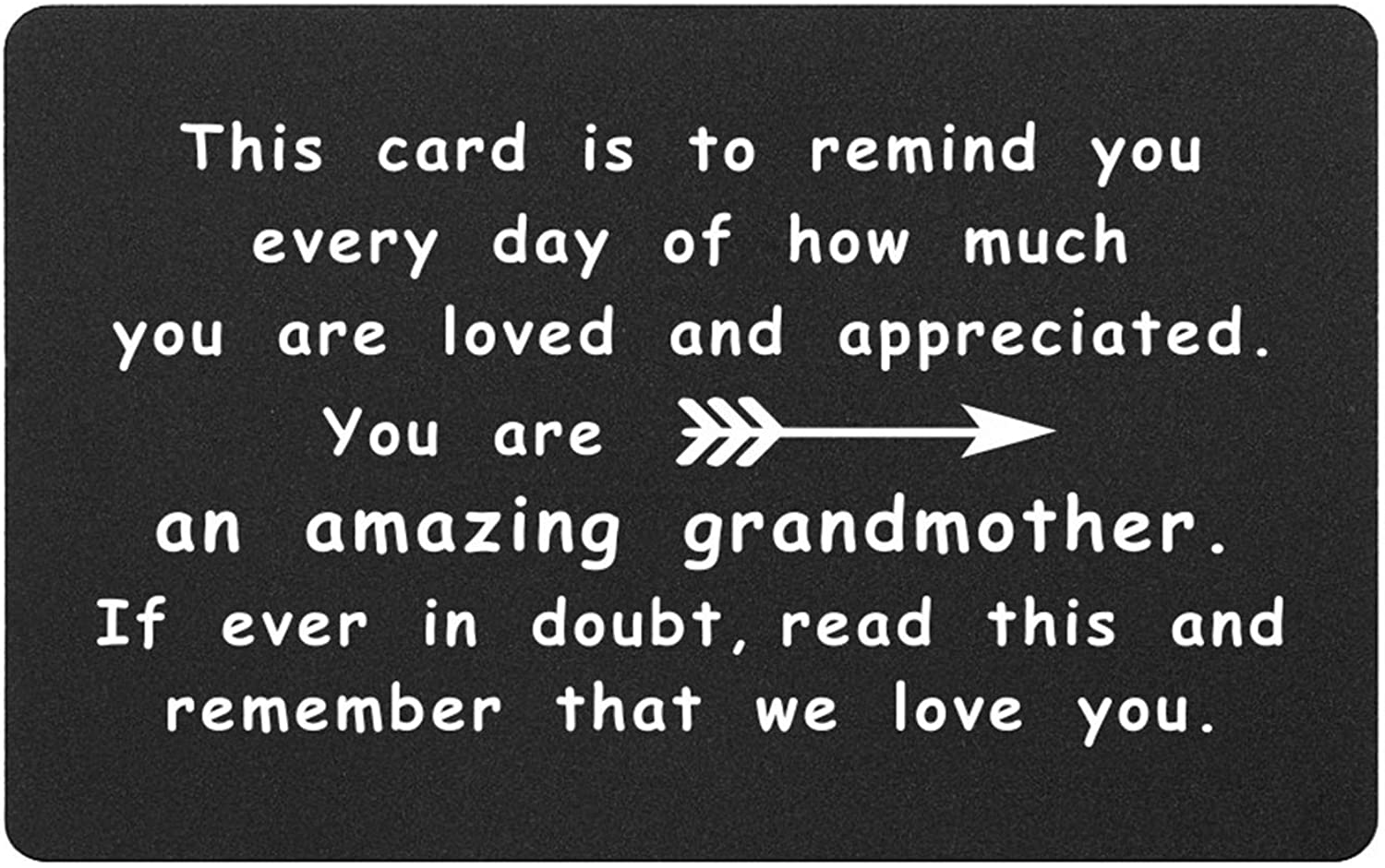 Grandma Limited time cheap sale Grandpa Wallet Weekly update Insert from Granddaughter Grandson Card