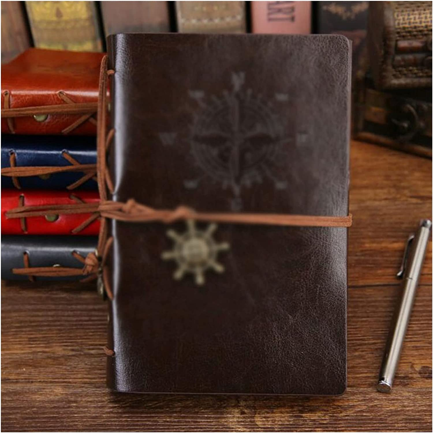 Notebook Retro Spiral Diary Vintage Pirate New life Notepad Manufacturer OFFicial shop Anch