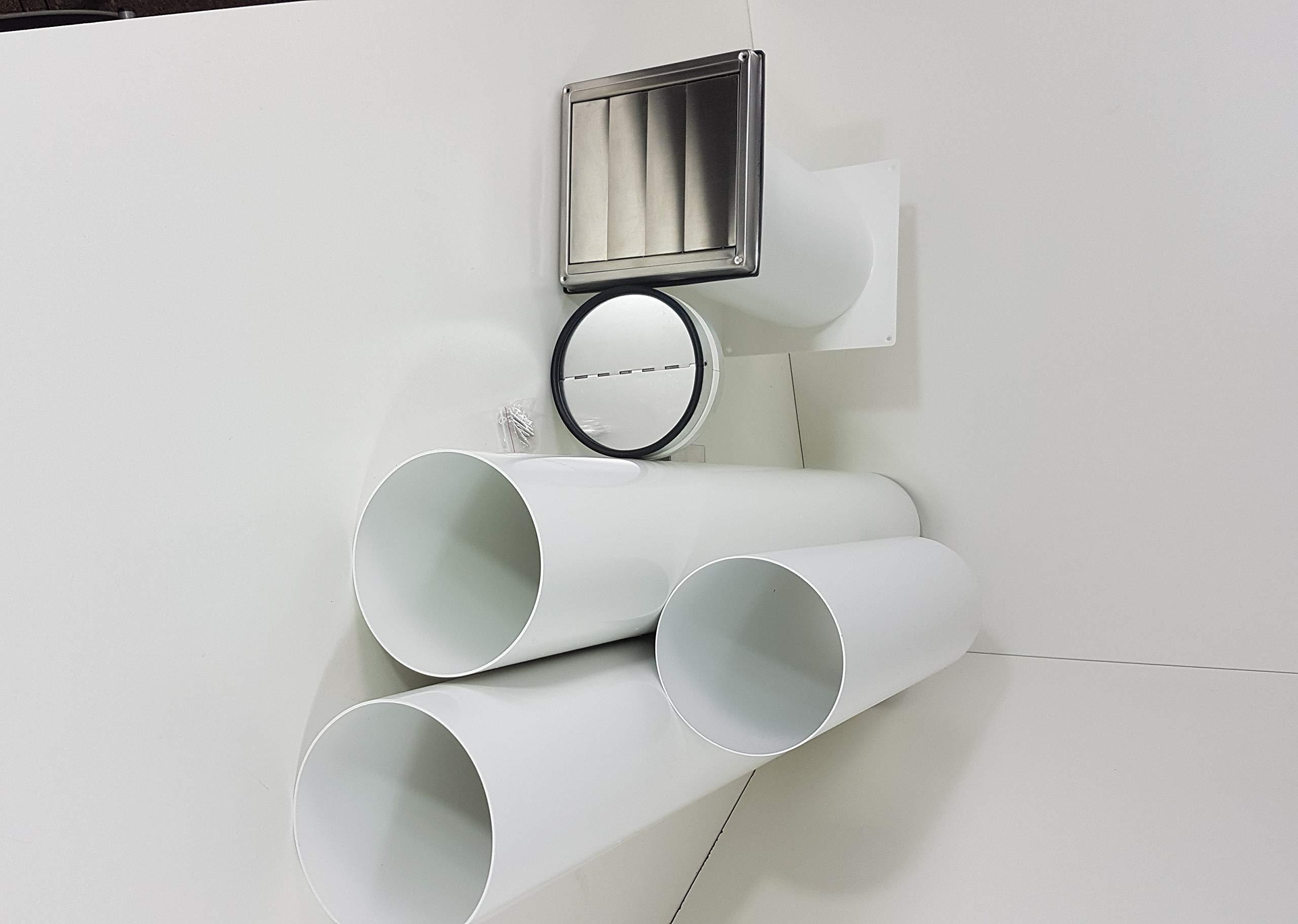 Muro Buzón NW 150 Campana Tubo telescópico con tubo de Juego y arco S2 de R De mkwskqle de bdsi: Amazon.es: Hogar